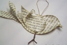paper things. / by Linda B. Savage