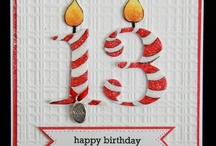 Cards - Birthday Numbers / by Penelope Jane