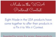 Giveaways & Pin it to Win it / Giveaways, promotions, and pin it to win it events. These are products we think you'll just love. Good luck! / by Bobee