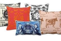 A Euro Chic Line of Pillows by Edward Doyle Designs / Unique designs and trendy offerings by up and coming artists (although no longer offering Edward Doyle Designs).
