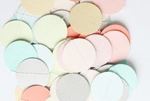 Color Crush - Pastels / Pastels ranging from pale to bright / by Ez Pudewa