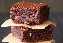 Brownies and Blondies / Dark, Chocolate and Fudgy! Light Sweet and Sugary!  You know you can't get enough. Brownie and Blondie Recipes that will have you drooling.