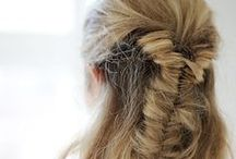 Haute Hair / Fav hair styles...Beachy waves, long and straight, up-do's, down-do's and everything in between.