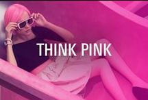 Think Pink / This October sees the return of the Think Pink! campaign. Here's what's inspiring us....