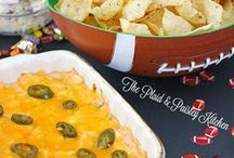 Football Party Food / Game Day is all about the Party Food!  This board contains the best appetizers, chips and dips, and wings that you will find.  Look no further for the recipes that you need for your next get together!