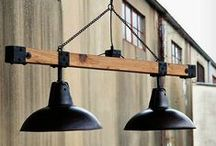 Lamp and Lighting Ideas / After seeing some of these lamp and lighting hacks, you'll probably never want a new standard light again.  Who wants a boring light wen you can have a steampunk one?  You can turn all kinds of trash into treasure by simply adding a light.