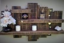 Barn Wood Finds / Barns have been a fixture of rural America for hundreds of years.  Even though many of them are falling down, many are reclaiming the wood and repurposing it into other things.  You can do so many things with hardwood and hand hewn beams.  This board is dedicated to all the things I've found you can do with barn wood.