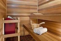 Home Saunas / Beautiful examples of custom-built in-home saunas, sauna kits and saunas you can diy.