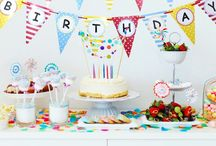 Birthday Party Inspiration / Birthday party inspiration, decoration, and celebration. We've got cakes and other desserts, party themes, games, and more!