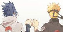 SasuNaru / Friend and brothership + Genderbend couple
