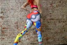 Tights and Leggings / Pokemon and Dragon Ball Z leggings