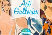 World's Best Art Galleries // The Invisible Tourist / A collection of the World's Best Art Galleries.