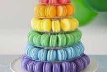 برج ماکارون (Macaron Tower) / ماکارون های متنوع و رنگارنگ