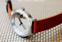 TEA TIME COLLECTION / Inspired by the calm and inviting atmosphere of a homely café, the Tea Time Collection features watch designs that are comfortable and relaxed.