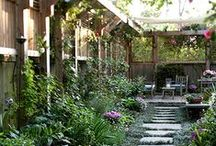 Gardens & Outdoor Areas / by Connie Warner