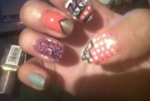 Nails I do.  / Nails I do when I'm feeling a bit creative.