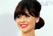 Emmy's Beauty 2012 ¬ Zooey Deschanel / by Zuneta Beauty