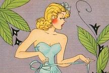 Vintage Linen Postcards / by Elizabeth V