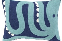 My Pillow Obsession / I have a thing for pillows. I have way too many of them.  But I want more (these)!