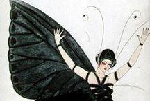 Vintage Costume Design Illustration