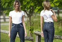 We Love Denim / A collection of denim equestrian style fashion - including denim jodhpurs and breeches