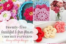 Crochet Pattern Roundups / Crochet pattern roundups from designers and bloggers around the web. Mostly free.