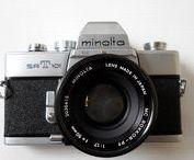 Minolta SRT101 / 35mm SLR Minolta SRT101 with Minolta Rokkor-PF 50mm f/1.7 lens.