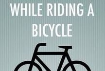 Cycling Inspiration / get inspired to get on your bike! Inspirational quotes and pictures to get you in the cycling mood!