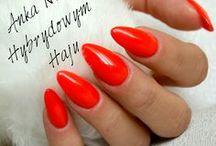 plain nails - paznokcie gładkie