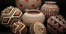 Baskets / Ethnic handwoven baskets: one of my passions!
