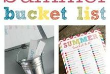 DIY Summer and 4th of July Crafts / Fun craft and DIY projects that are perfect for summer and 4th of July