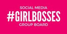 Social Media Girl Bosses / Hey guys! This is a group board designed to bring social media girl bosses together. You are welcome to pin your social media tips and blog posts here. If you would like to be a contributor, email me with a link to your Pinterest profile at bloomyourblog[at]gmail[dot]com.