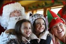 Christmas in New Hampshire / Celebrating all things Christmas in New Hampshire. The best places to cut your own tree and events and activities to get you in the Christmas Spirit. All aboard the Polar Express!