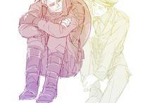 Stucky / Steve & Bucky