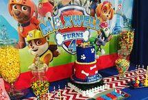 Anniversaire Pat' Patrouille/ Paw Patrol / Inspiration pour créer une super fête d'anniversaire Paw patrol: jeux, gâteaux, animation, ballons et décorations.