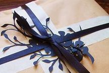 Beautiful Wrapping / In my dreams, I am an amazing wrapper of presents. In reality - not so much