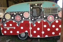 Campers RVs / by Cindy Neidt