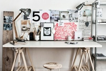 Desk Design... / Because having an inspiring place to work is important!