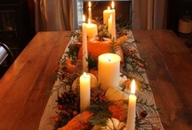 Thanksgiving decorating / by Melody Olson
