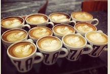 RITAZZA * BARISTAS / Lovely pictures from our baristas at Caffè Ritazza! #latteart #baristas