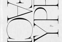 t y p e / Type / fonts / typography