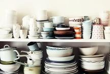 k i t c h e n & d i n i n g / Pretty kitchen and dining spaces