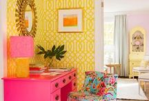Home Decor / Beachy, colorful home decor inspiration from Escapada Living