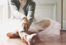 b a l l e r i n a / Ballerina, barre and ballet inspiration, soft and pretty urban.