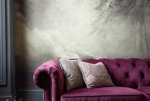 DEEP / Style Decoded: delving into deep, darker hues here. Rich plums, and other vine fruit shades! Kept contemporary though with smudges of grey and top notes of celadon. These are the complementary colours that balance out what could otherwise be the overly regal or arrogant overtones of the plum to purple spectrum.