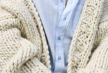 Tricots, Laines / Lainages, gilets à tricoter, avec un sublime rendu.