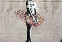 Architecture, Street Art / Street Art, Architecture urbaine, couleurs, endroits magiques