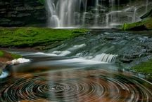Waterfalls / A place of Peace + Tranquillity