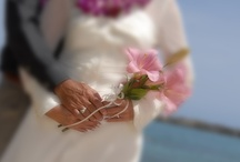 """Hawaii Destination Weddings / Love is always in the air on Maui – the perfect place to """"get Maui'd"""" or spend a honeymoon.  Stunning sunsets and secluded beach coves provide romantic backdrops as couples pledge their eternal love.   / by Destination Resorts Hawaii"""