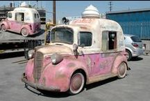 Ice Cream Man / Photo of those beloved ice cream trucks.